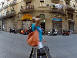 Barcelona, foto de grupo, tentativa 3...