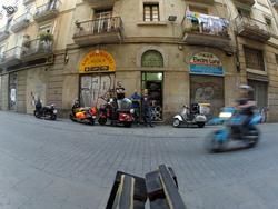 Barcelona, foto de grupo, tentativa 2...