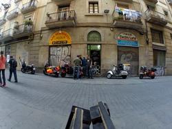 Barcelona, foto de grupo, tentativa 1...