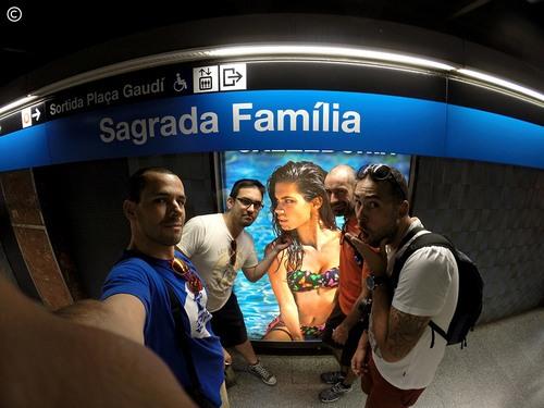From Lisbon to Croatia - dia 3 - Barcelona - a Sagrada Família (nossa)